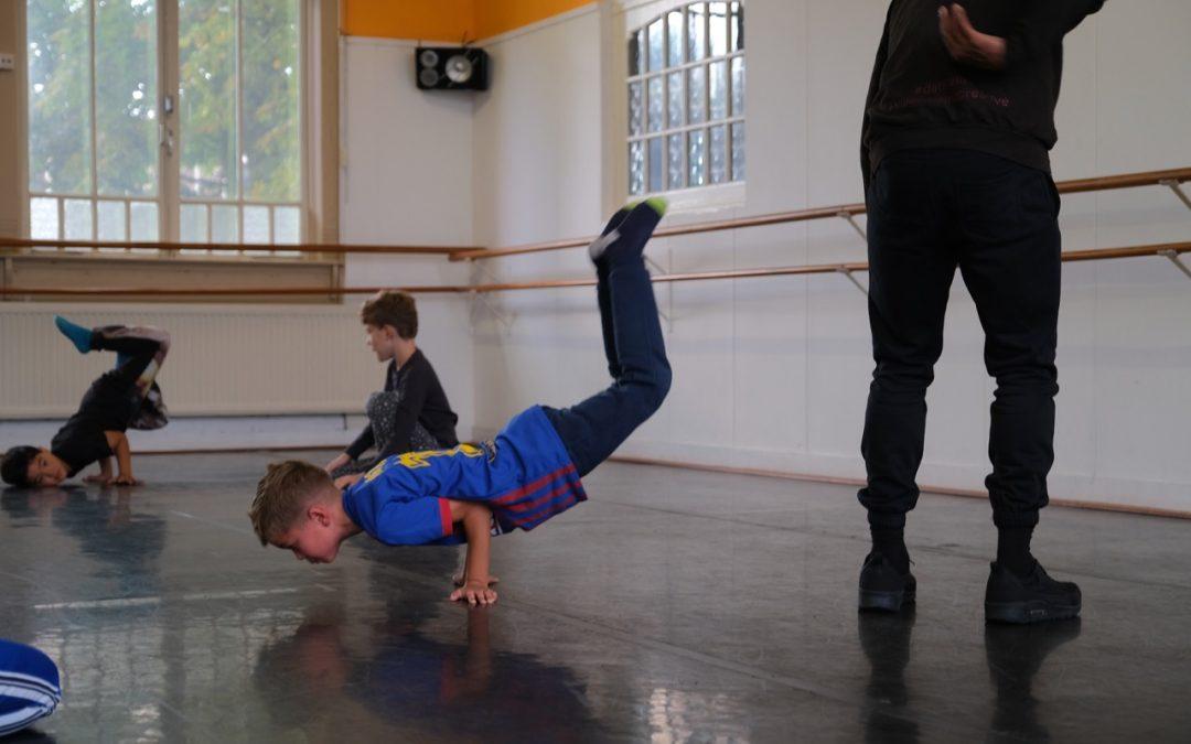 55. Breakdance – 6 – 9 jaar (zaterdag)